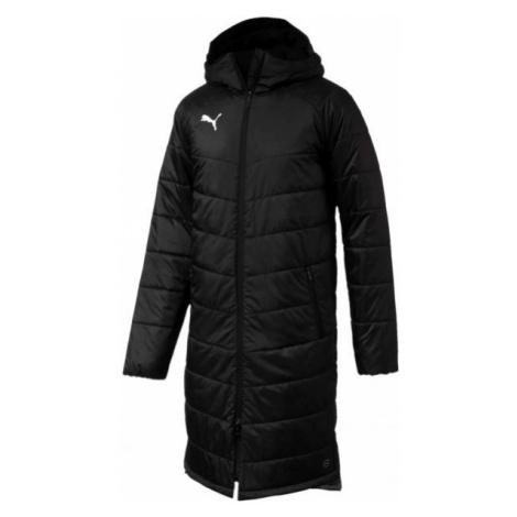 Puma LIGA SIDELINE BENCH JKT LONG black - Men's sports jacket