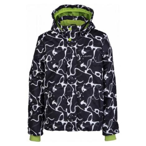 Lewro LAMAR black - Kids' winter jacket