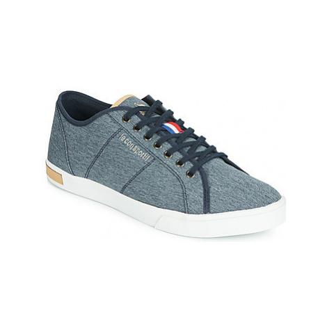Le Coq Sportif VERDON DENIM men's Shoes (Trainers) in Blue