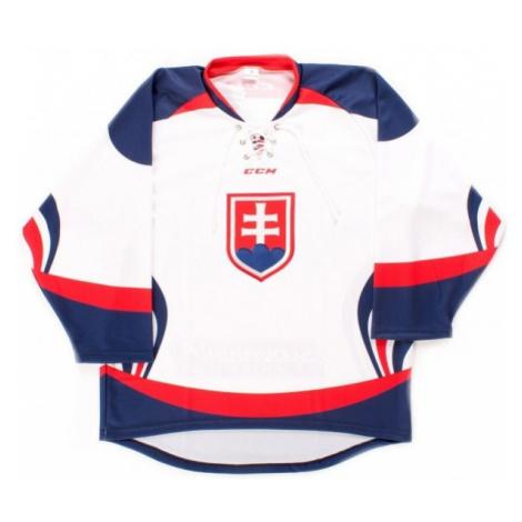 CCM Dres SIHF white - Ice hockey jersey