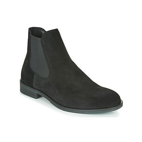 Selected LOUIS SUEDE CHELSEA men's Mid Boots in Black