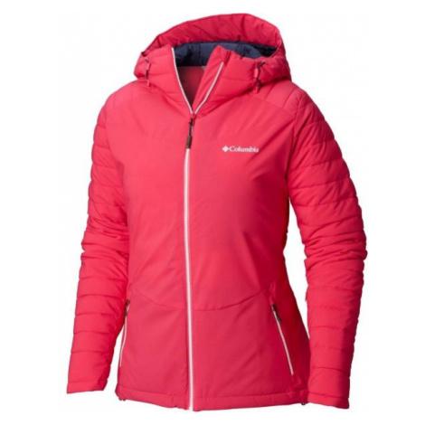 Columbia WHISTLER PEAK JACKET pink - Women's jacket