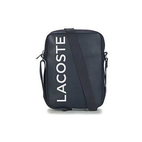 Lacoste L.12.12 CUIR ANIMATION men's Pouch in Blue