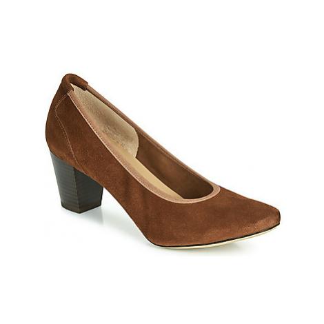 Perlato 10362-CAM-COGNAC women's Court Shoes in Brown