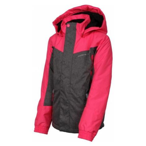 ALPINE PRO PREO 2 grey - Kids' winter jacket