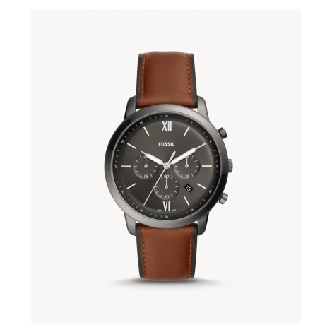 Fossil Men's Neutra Chronograph Amber Leather Watch