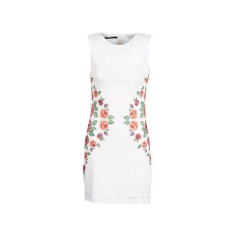 Desigual VALERIA women's Dress in White