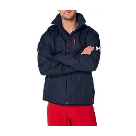 Helly Hansen Crew Hooded Midlayer Men's Jacket, Navy