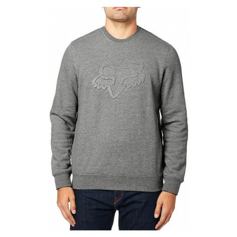 sweatshirt Fox Refract DWR Crew - Heather Gray - men´s