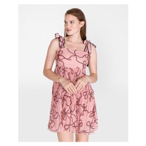 Pinko Bletilla Dress Beige