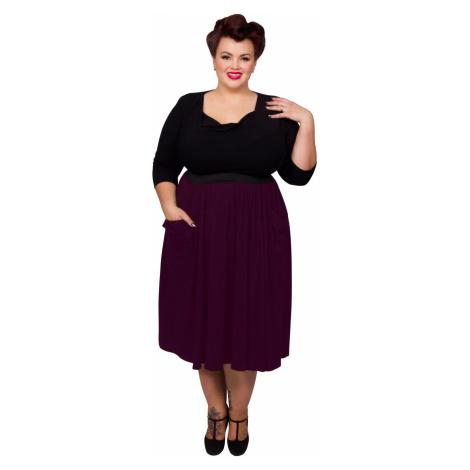 Pocket Skirt - Burgundy Scarlett & Jo