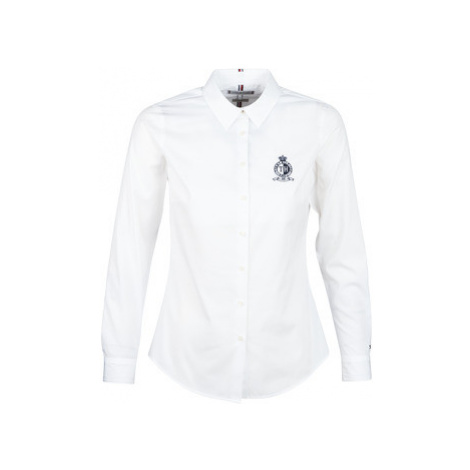 Tommy Hilfiger TH ESSENTIAL SHIRT LS W3 women's Shirt in White
