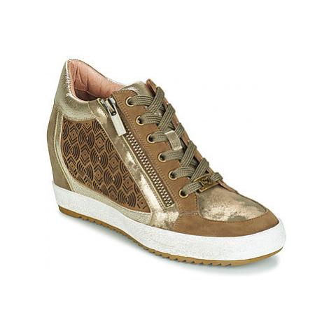 Mam'Zelle LAMIER women's Shoes (High-top Trainers) in Kaki