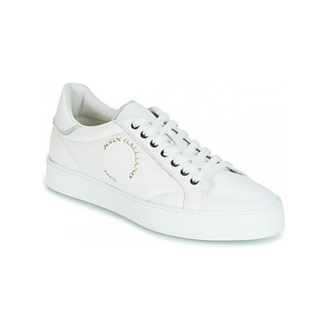 John Galliano FAMPO men's Shoes (Trainers) in White