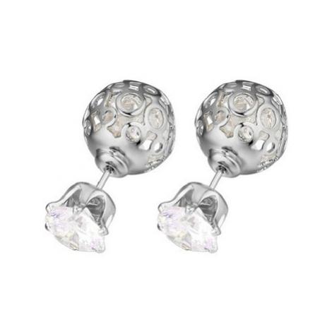 Blue Pearls PDC C372 women's Earrings in White