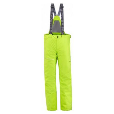 Spyder DARE GTX PANT yellow - Men's trousers