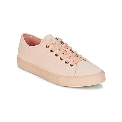 Esprit SONET LACE UP women's Shoes (Trainers) in Pink