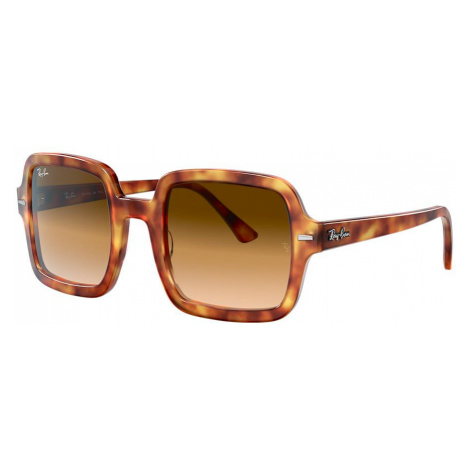 Ray Ban Woman RB2188 - Frame color: Tortoise, Lens color: Brown Gradient, Size 53-24/140