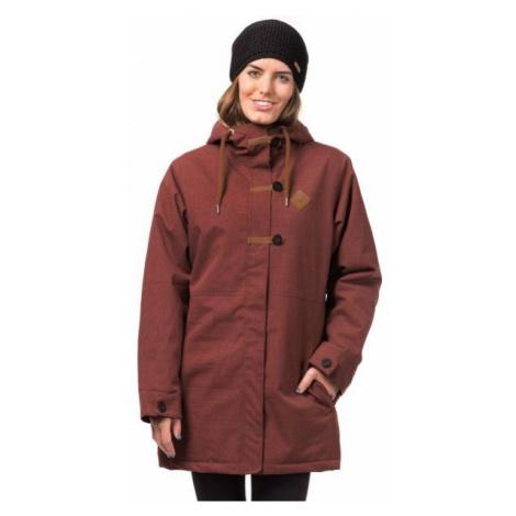 Horsefeathers ALVA JACKET brown - Women's ski/snowboard jacket