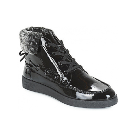 Mam'Zelle BORILA women's Shoes (High-top Trainers) in Black