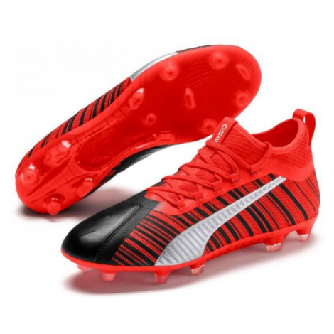 Puma ONE 5.2 FG/AG red - Men's football boots
