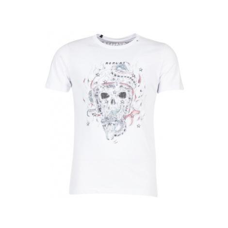 Replay CEKE men's T shirt in White