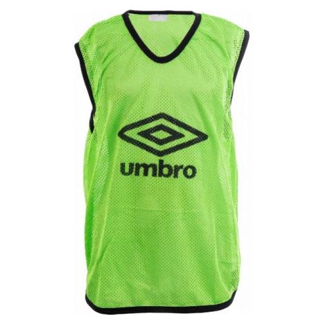 Umbro MESH TRAINING BIB - 65 X 52CM - Junior green - Kids' training jersey