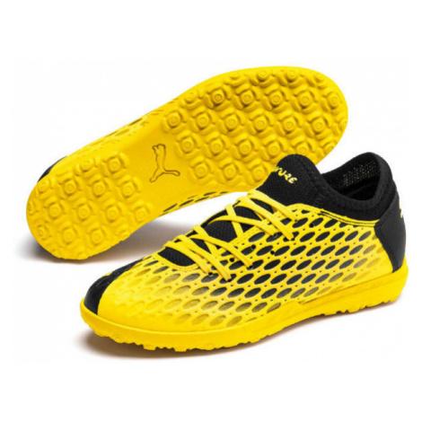 Puma FUTURE 5.4 TT JR black - Children's turf football shoes