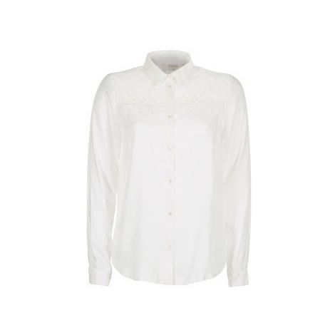 Cream ELLA BLOUSE women's Shirt in White