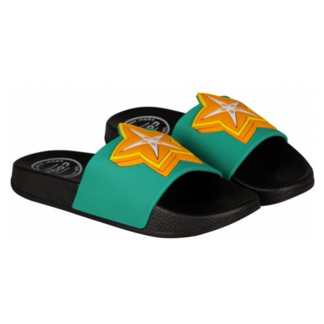 Coqui RUKI black - Children's slippers