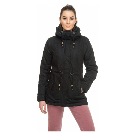 jacket Ragwear Monadis Twill - 1010/Black - women´s