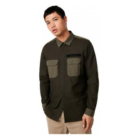 Oakley Men's Dark Brush Hybrid Utility Shirt Long Sleeve