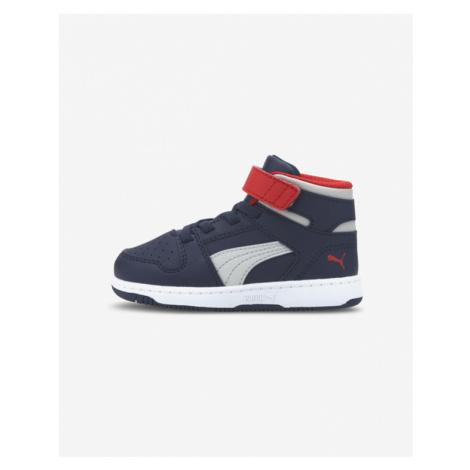 Puma Rebound LayUp Kids Sneakers Blue