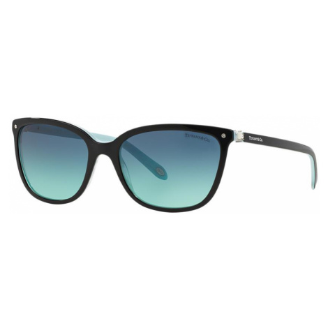Tiffany Co Woman TF4105HB Tiffany Aria - Frame color: Black, Lens color: Blue, Size 55-17/140