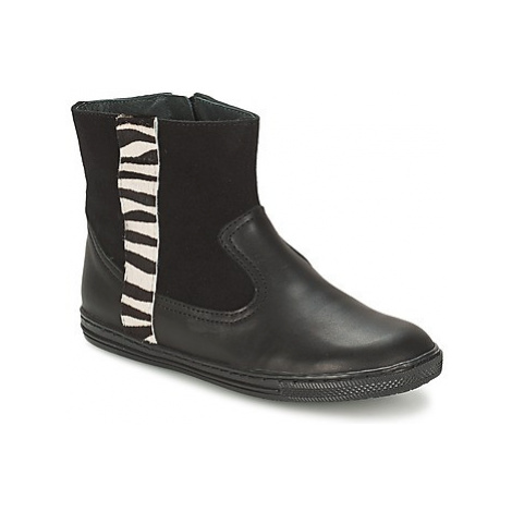 Citrouille et Compagnie ELLIA girls's Children's Mid Boots in Black