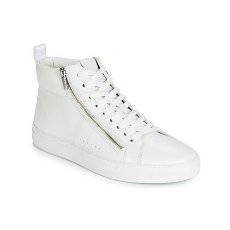 HUGO FUTIRISM HITO NAZP men's Shoes (High-top Trainers) in White Hugo Boss
