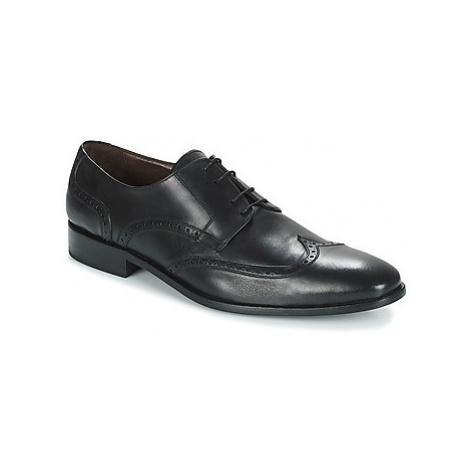 So Size JOON men's Smart / Formal Shoes in Black