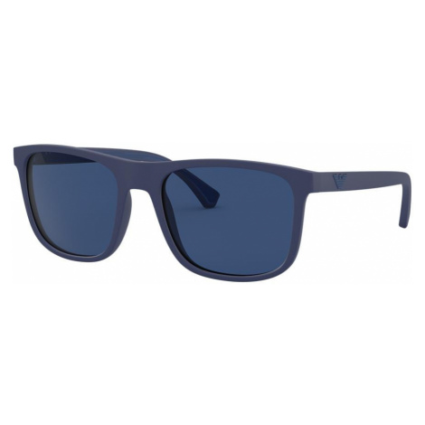 Emporio Armani Man EA4129 - Frame color: Blue, Lens color: Blue, Size 56-19/142