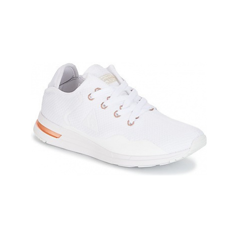 Le Coq Sportif SOLAS W SPARKLY/S LEATHER women's Shoes (Trainers) in White