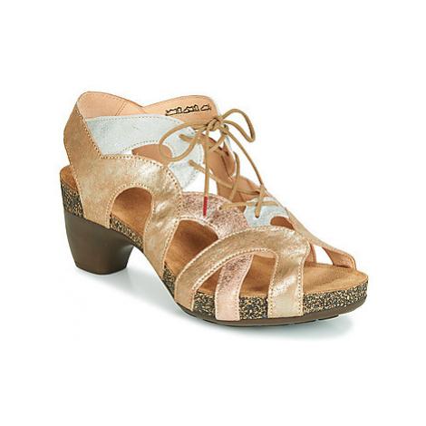 Think SVELTA women's Sandals in Gold