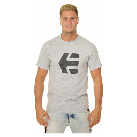 T-Shirt Etnies Grip Icon - Gray/Heather - men´s