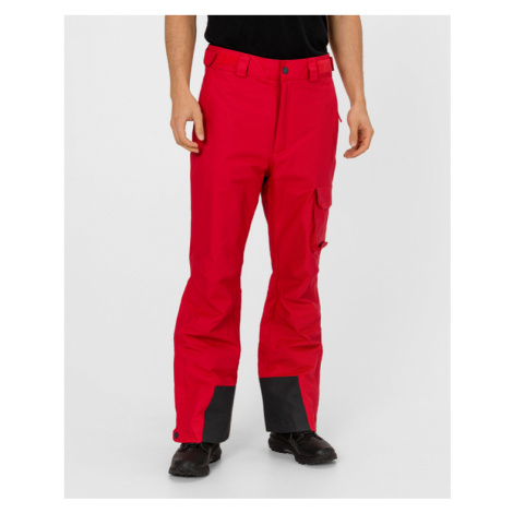 Red men's insulated trousers