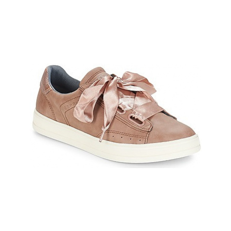 Esprit SIDNEY LU women's Shoes (Trainers) in Beige