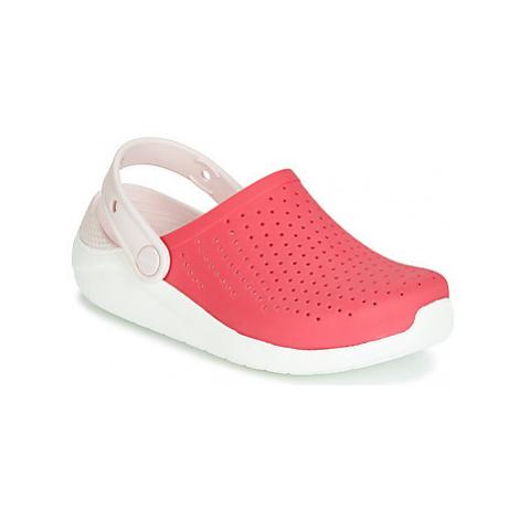 Crocs LITERIDE CLOG K girls's Children's Clogs (Shoes) in Red