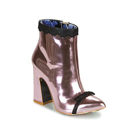 Irregular Choice ANASTASIA women's Low Ankle Boots in Pink