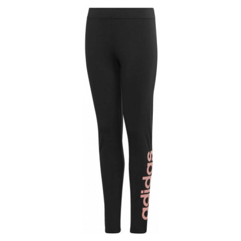 adidas YG E LIN TGHT black - Girls' leggings
