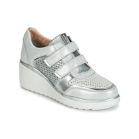 Stonefly ECLIPSE 16 VELOUR/LAMINATED women's Shoes (Trainers) in White
