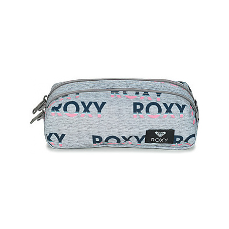 Roxy DA ROCK girls's Children's Cosmetic bag in Grey