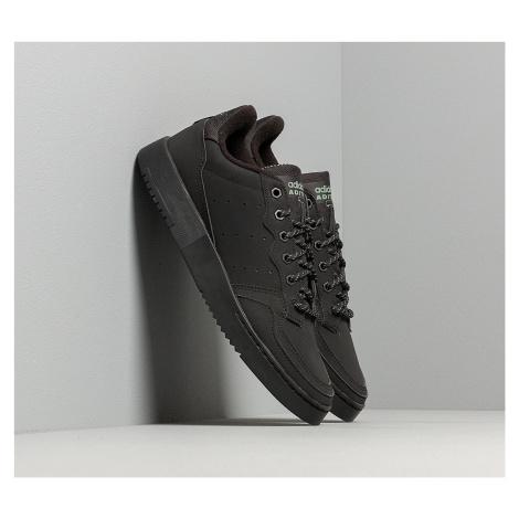 adidas Supercourt Core Black/ Core Black/ Trace Green