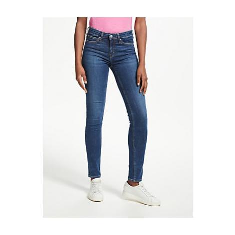 Calvin Klein Mid Rise Skinny Jeans, Amsterdam Mid Blue